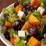 Pumpkin, Beetroot & Feta Salad (V,GF) Pasta Pantry